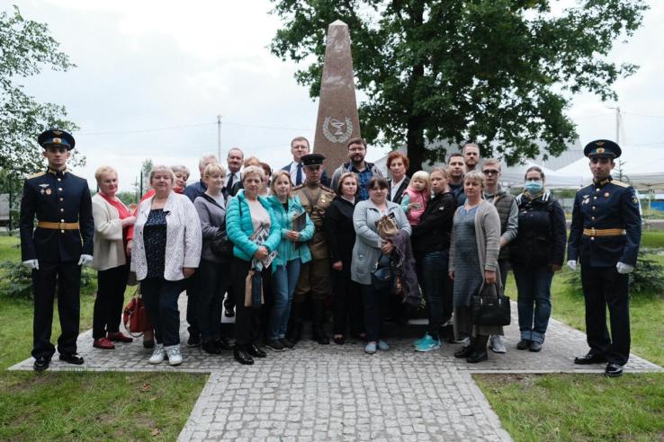 Открытие памятника ветеринарным врачам